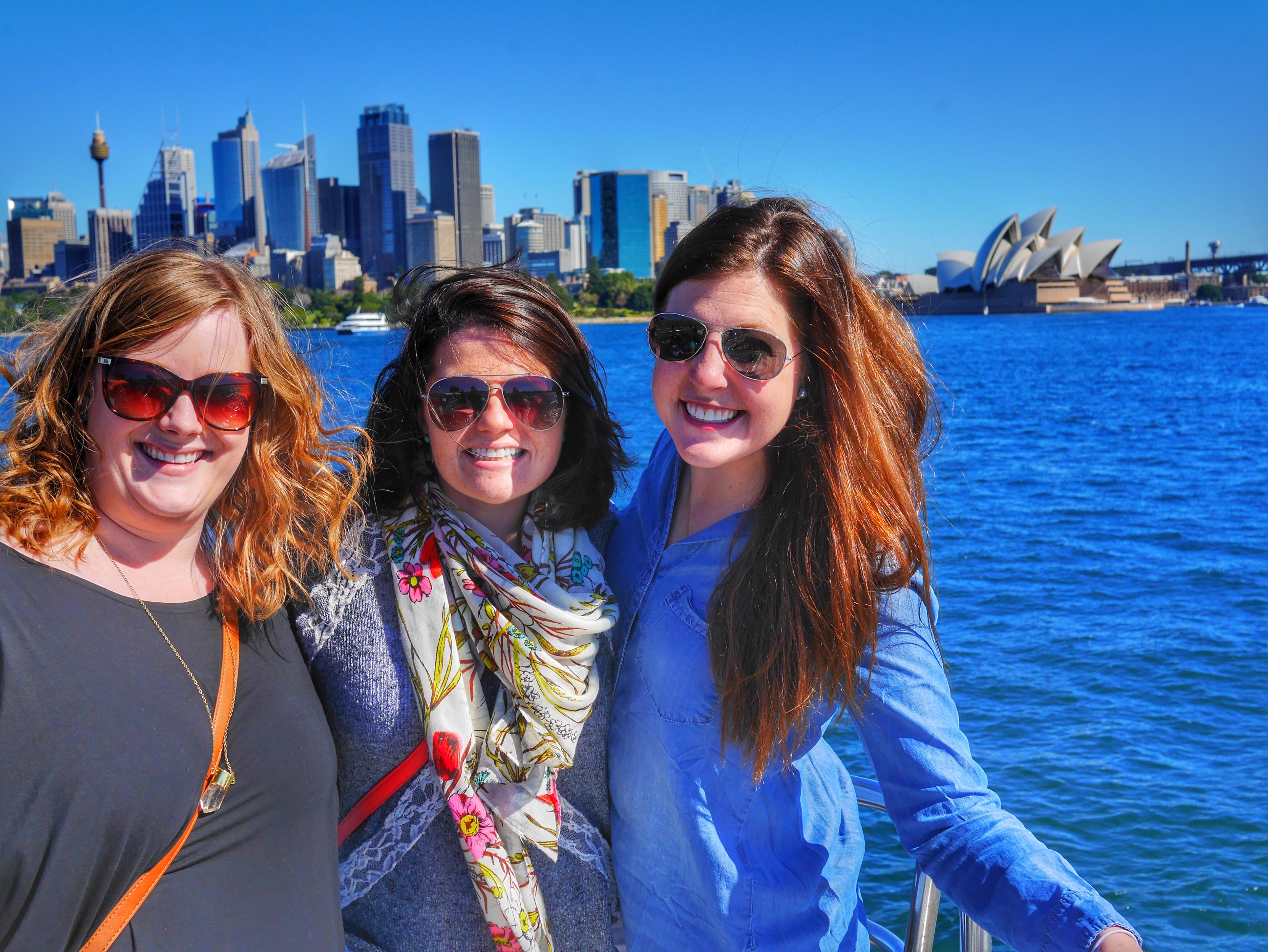 Sydney Harbour thesweetwanderlust.com