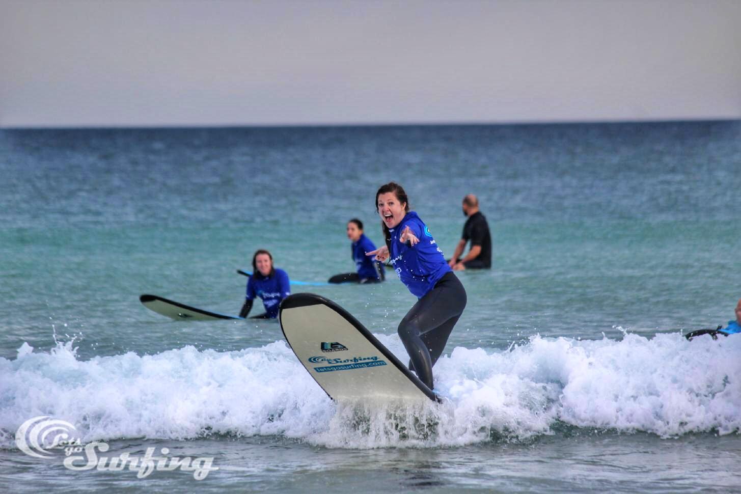 Bondi Beach surfing thesweetwanderlust.com
