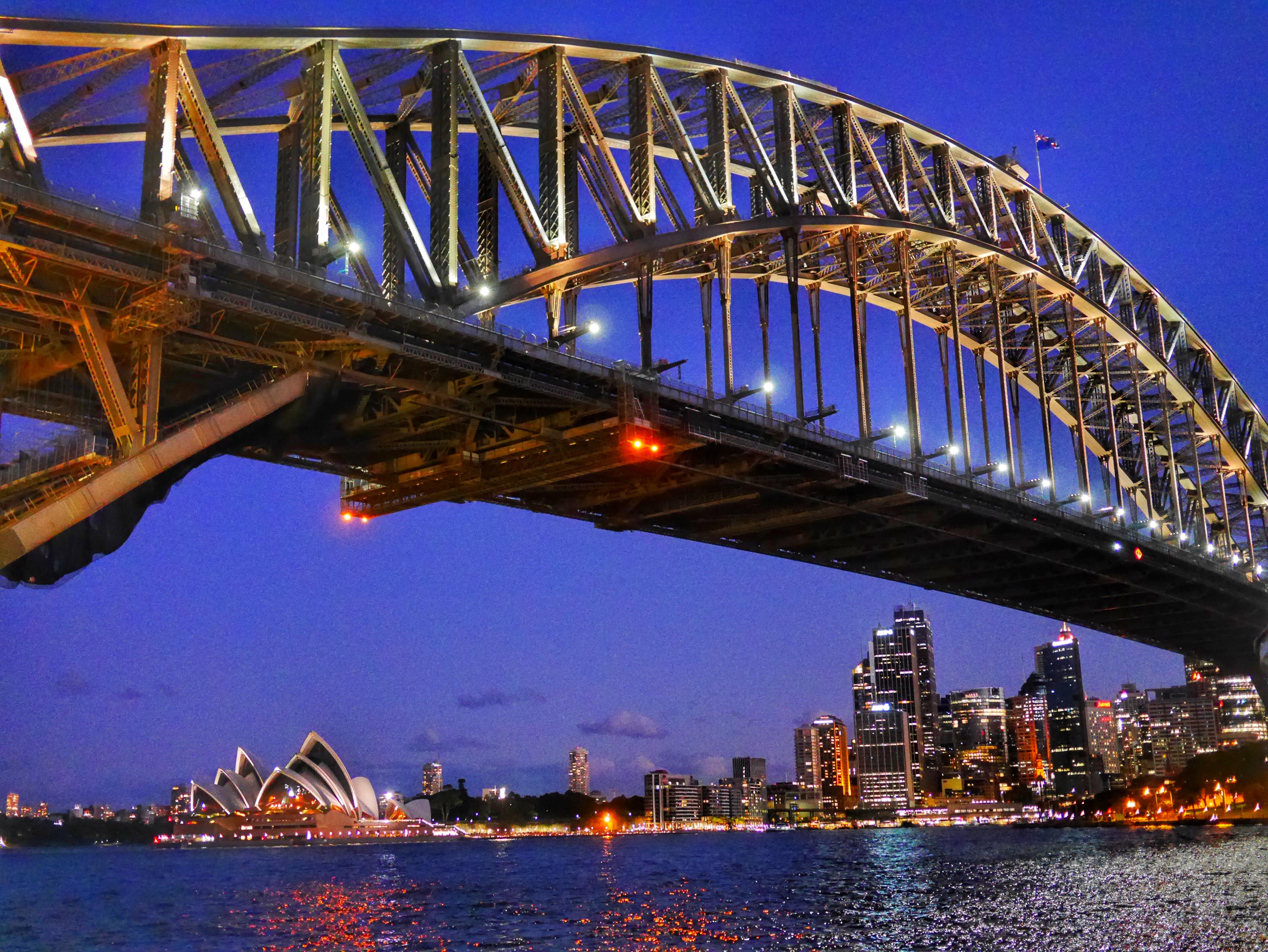 Sydney Harbour from Luna Park