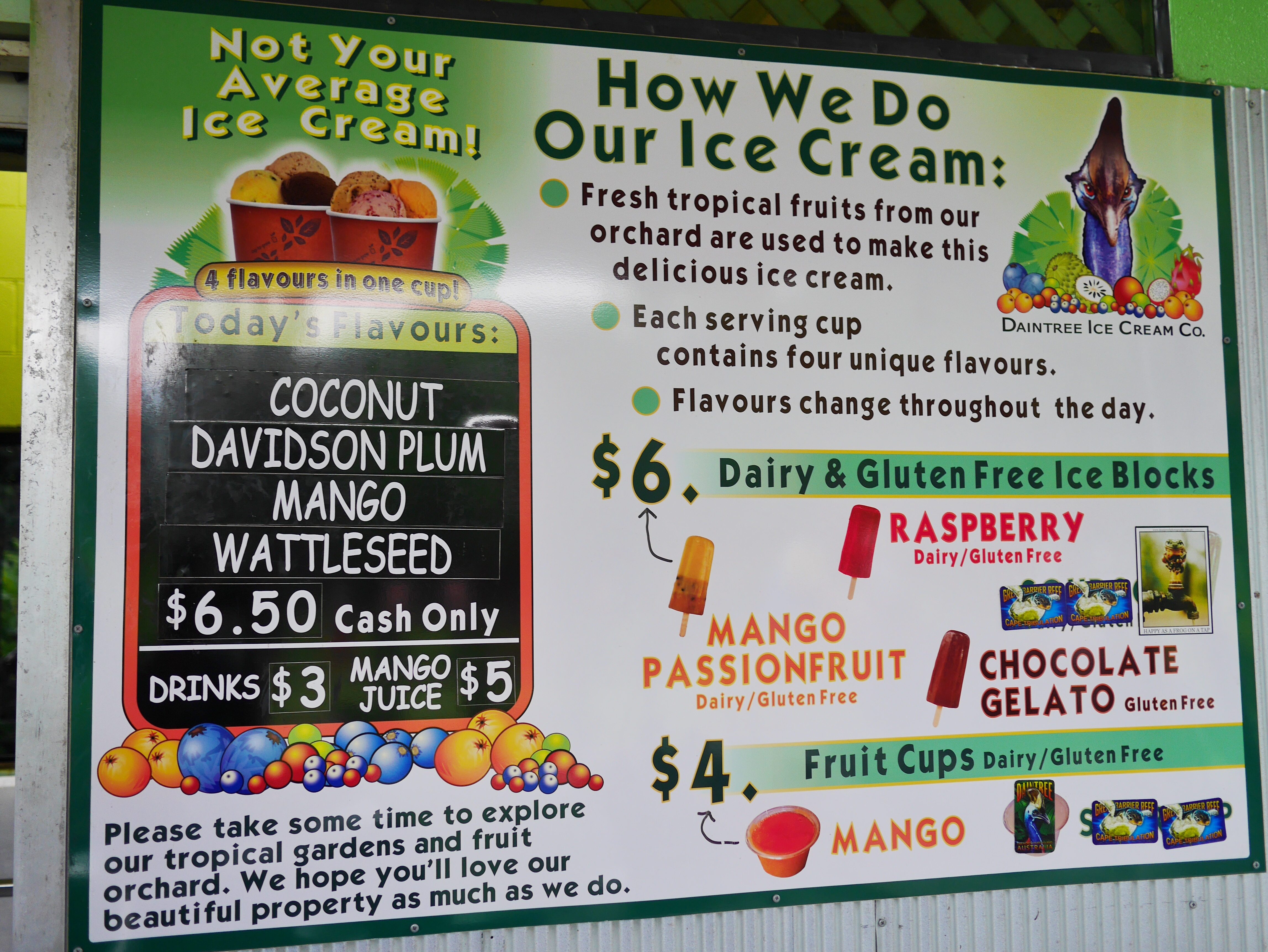 Daintree Ice Cream Factory