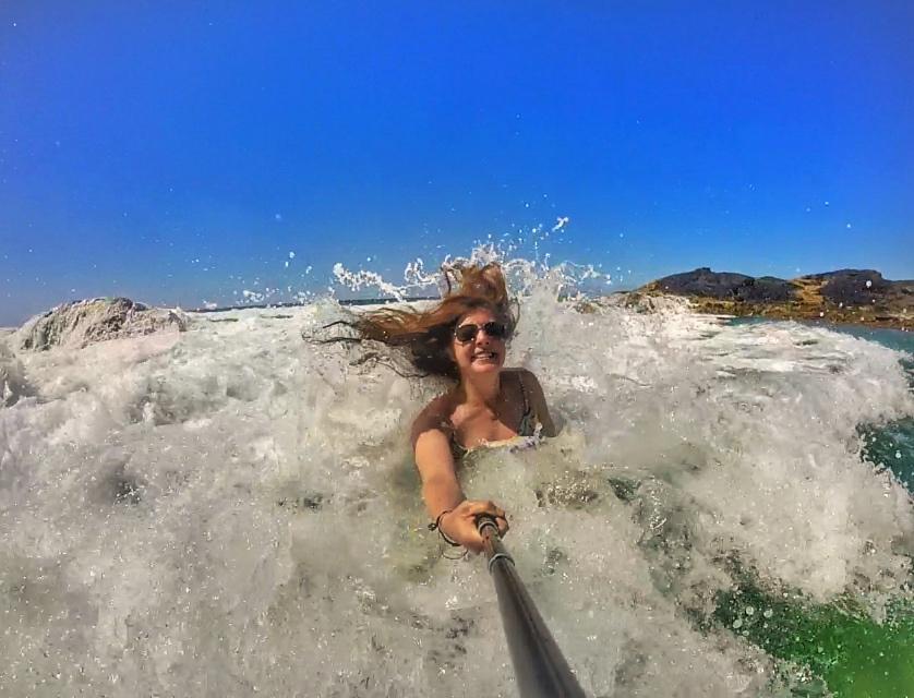 Champagne Pools on Fraser Island Australia thesweetwanderlust.com