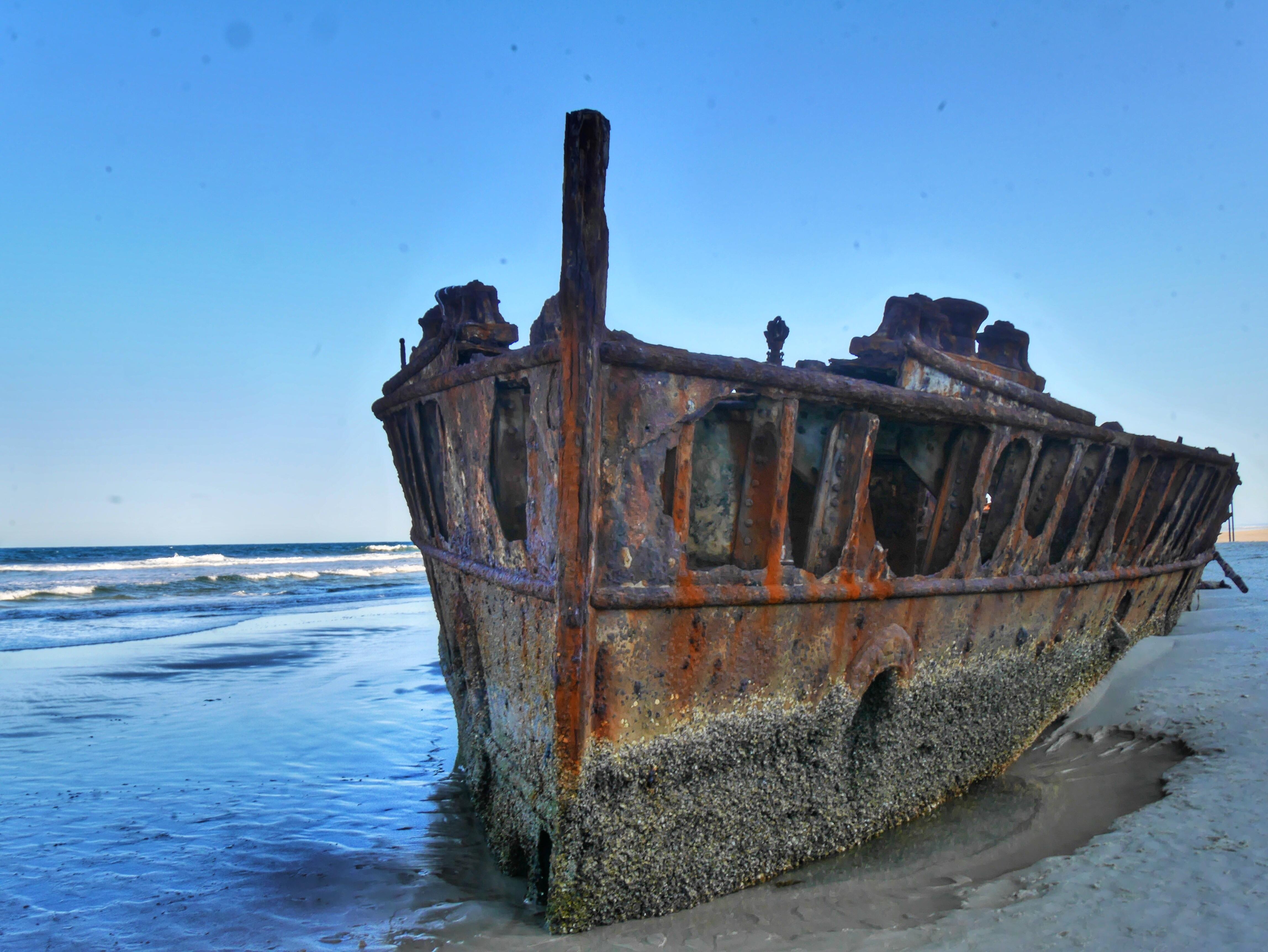 Maheno Wreck Fraser Island Australia thesweetwanderlust.com