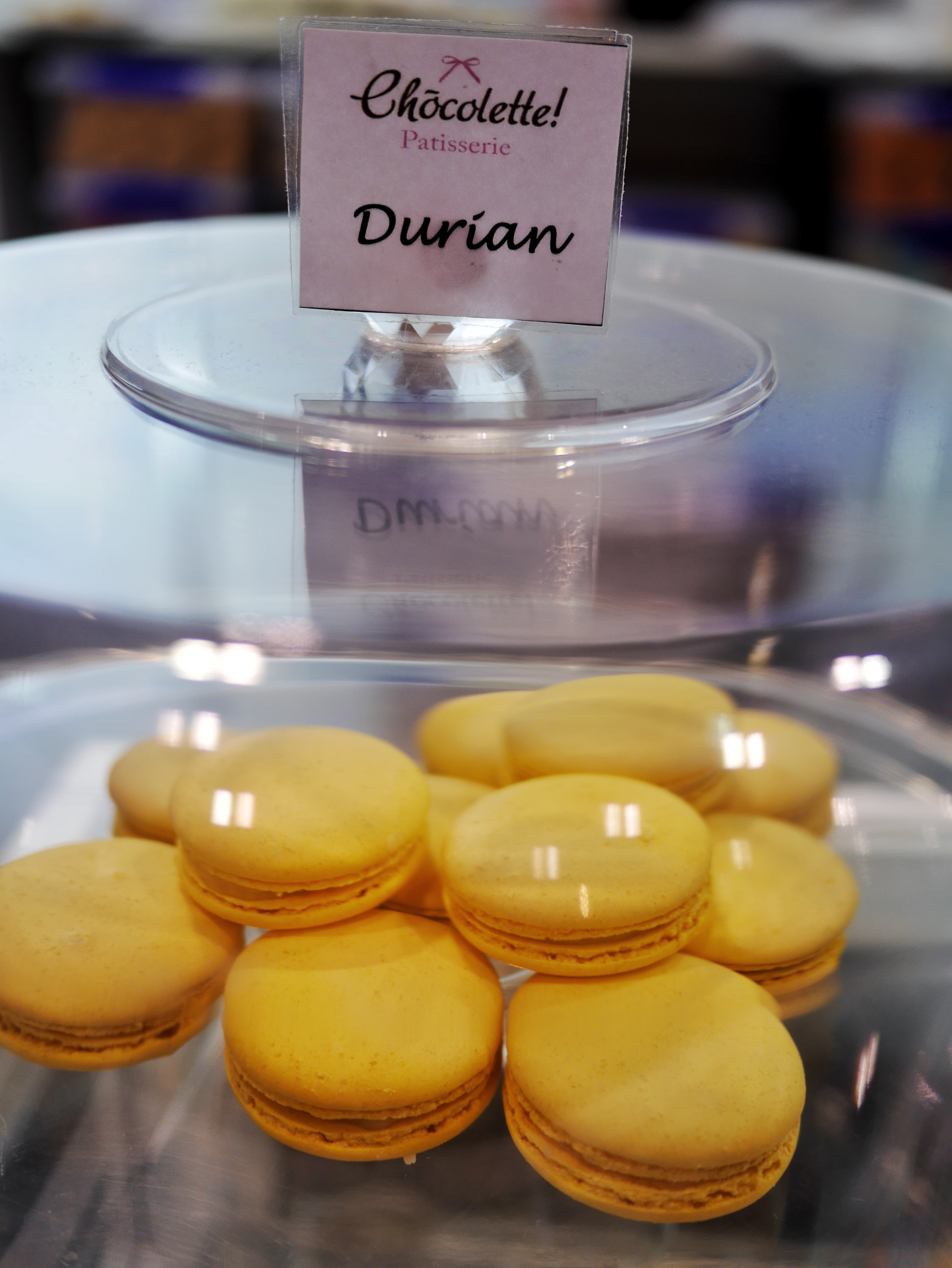Durian Macarons Chocolette Melbourne Cake Bake and Sweets Celebrity Stage thesweetwanderlust.com