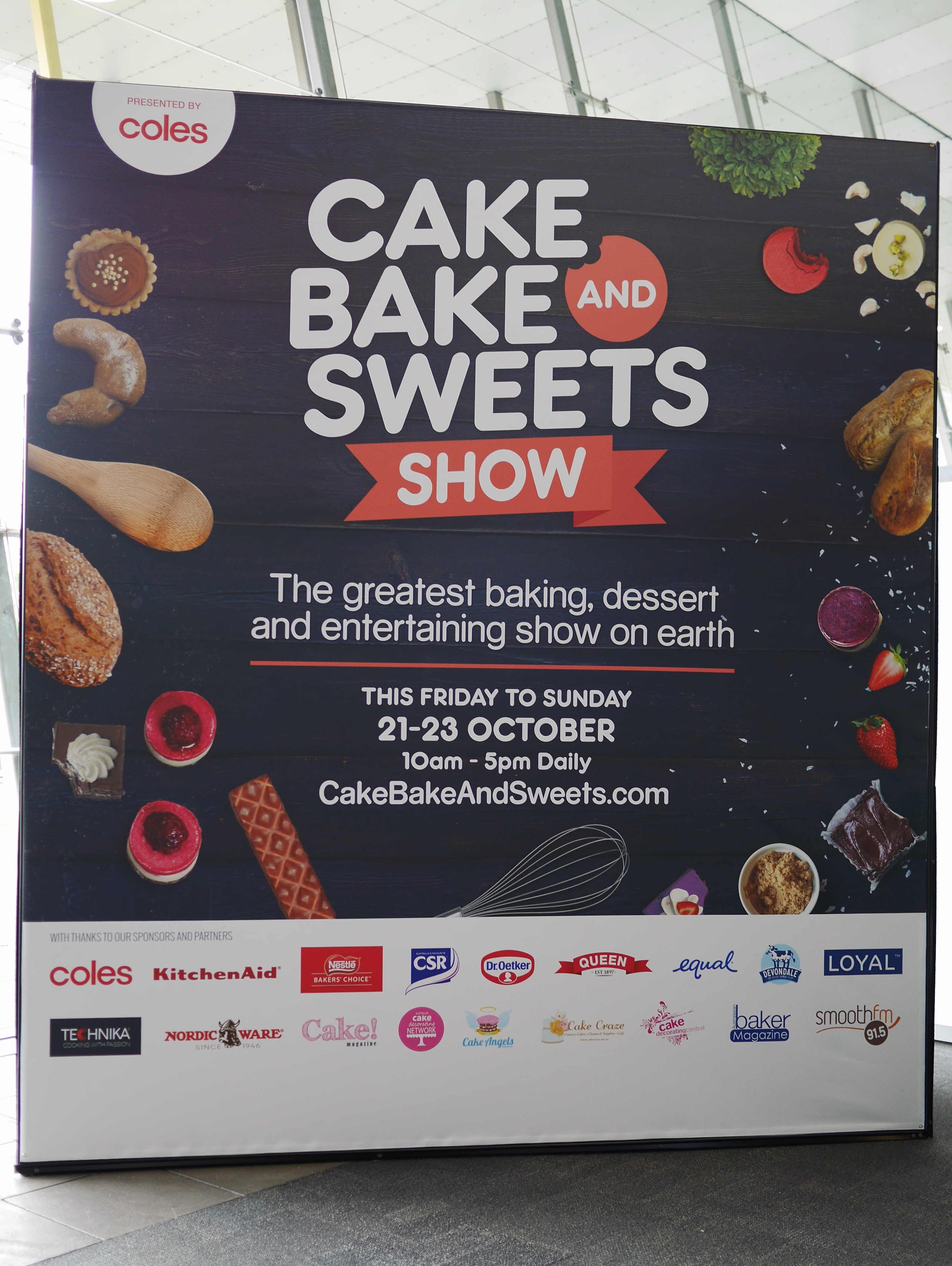 Melbourne Cake Bake and Sweets show thesweetwanderlust.com