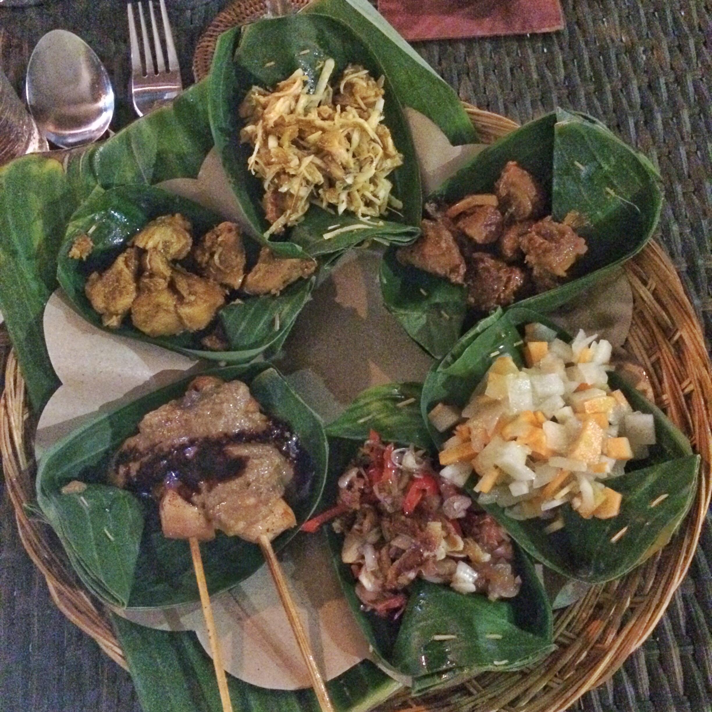 Balinese food via fittravels.com