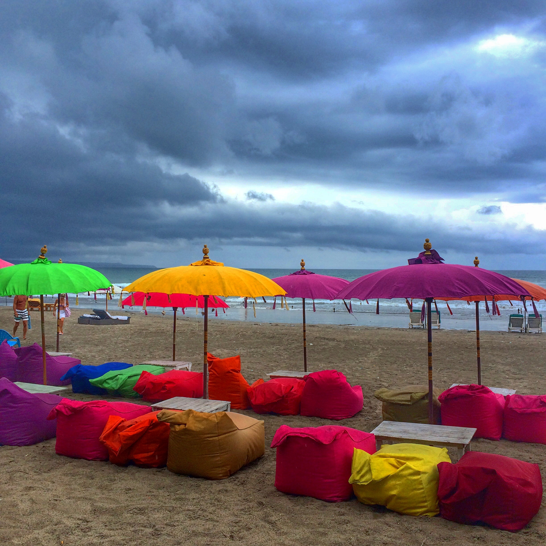 Bali Beach via fittravels.com