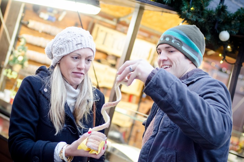 Holiday desserts around the world Trdelník Prague