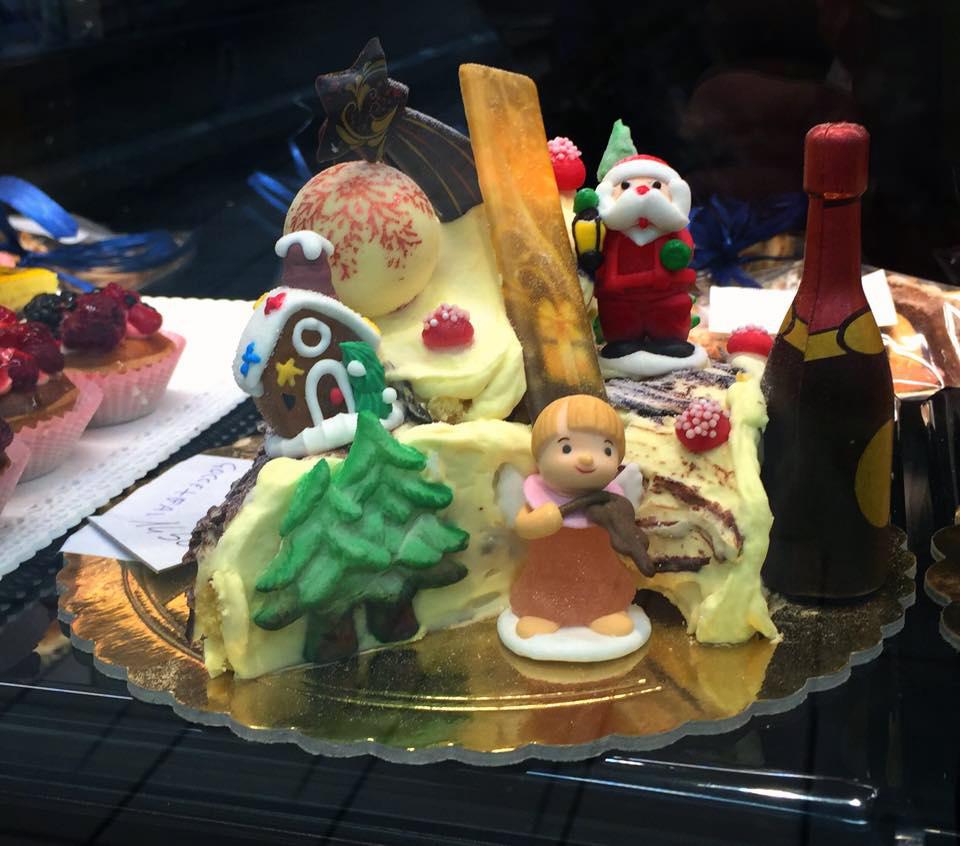 Holiday desserts around the world: France Buche de Noel