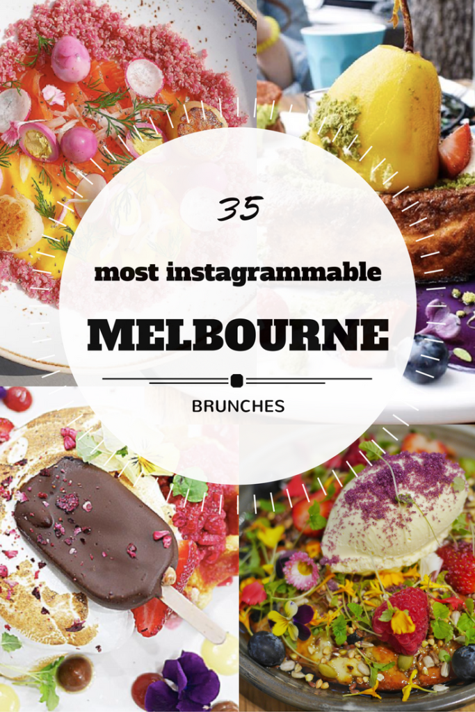 35 most Instagrammable brunches in Melbourne