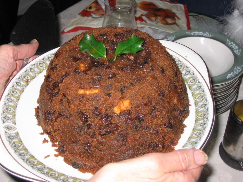 Holiday desserts around the world Christmas Pudding England