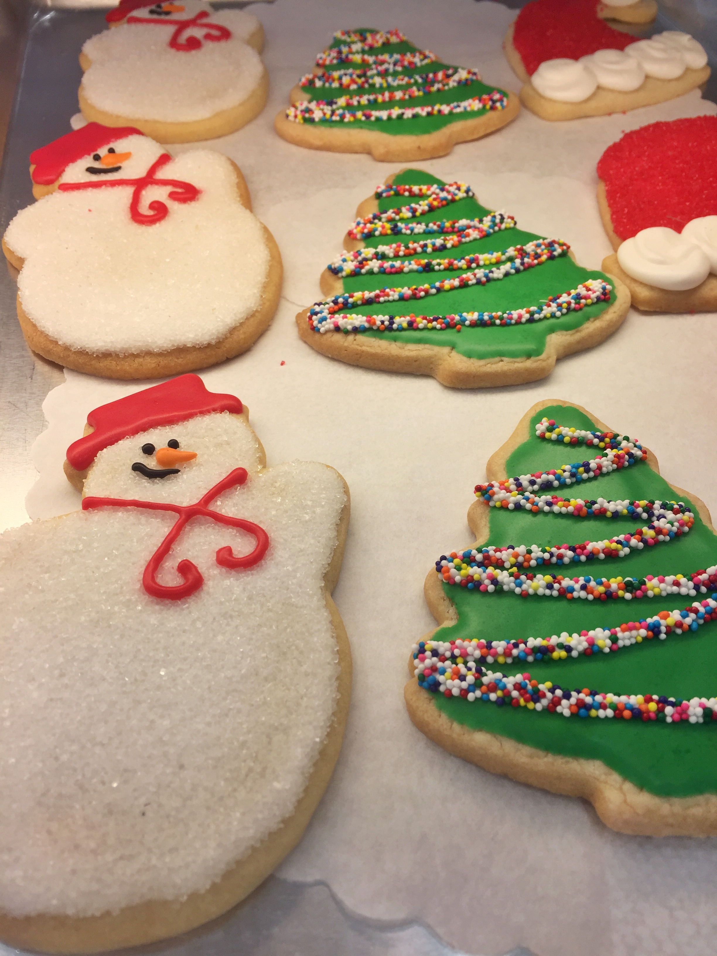 Holiday Desserts around the world USA sugar cookies
