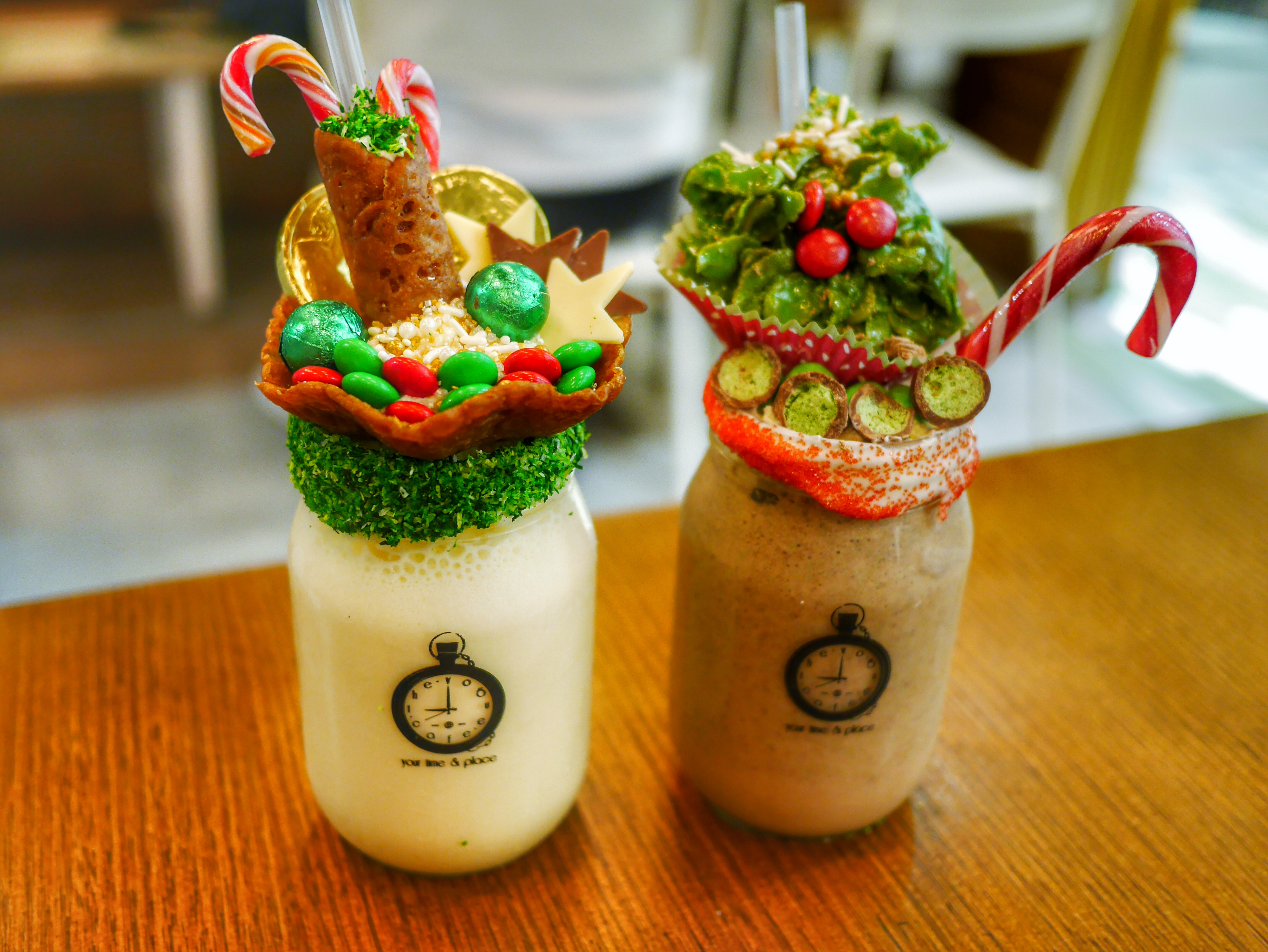 Sydney's best desserts The Vogue Cafe Christmas Killer Shakes thesweetwanderlust.com