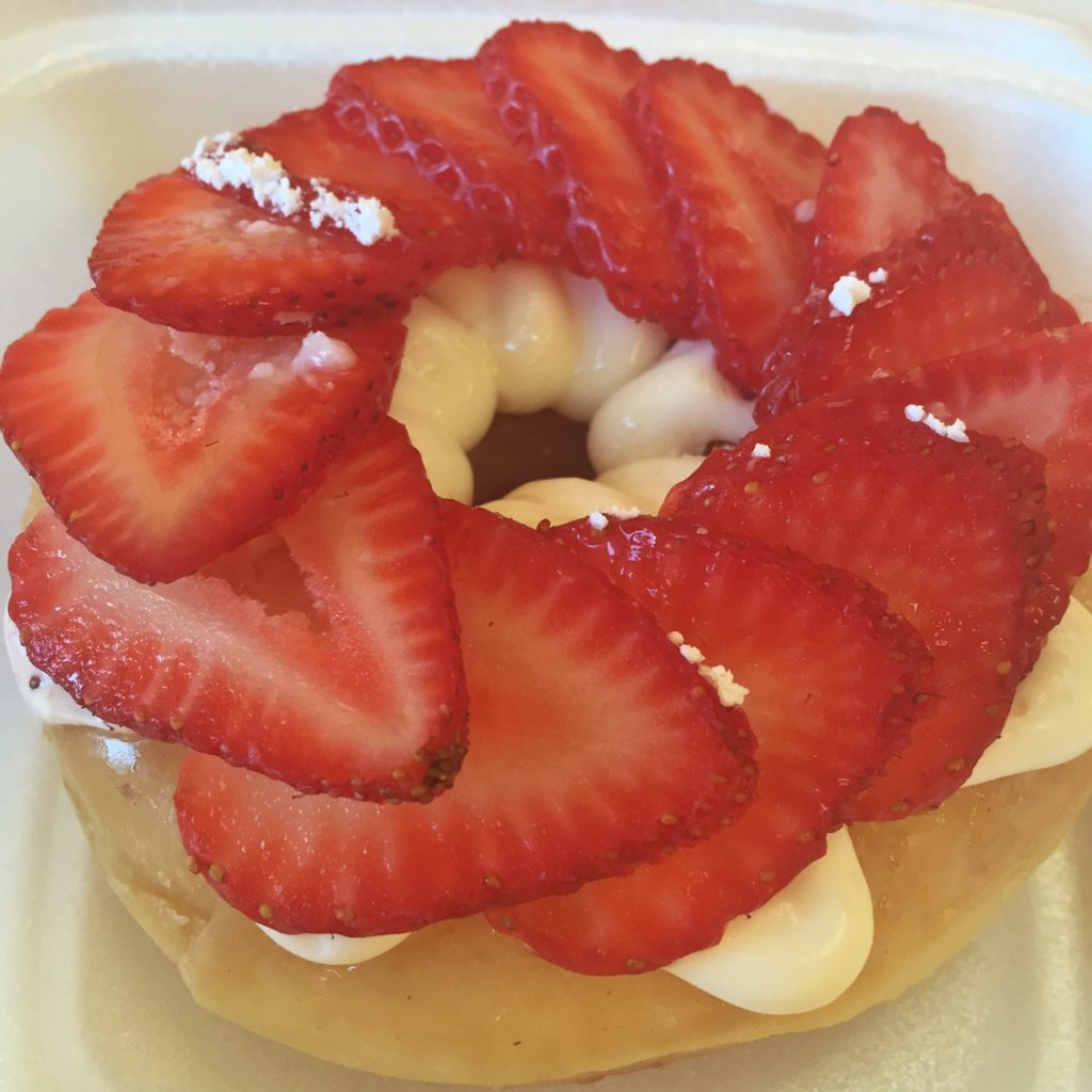 Jaram's Strawberry Donuts best donuts in Dallas thesweetwanderlust.com
