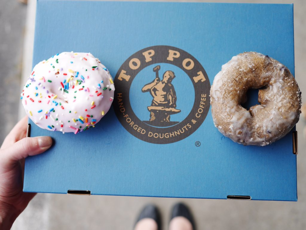 Top Pot Donuts best donuts in Dallas thesweetwanderlust.com