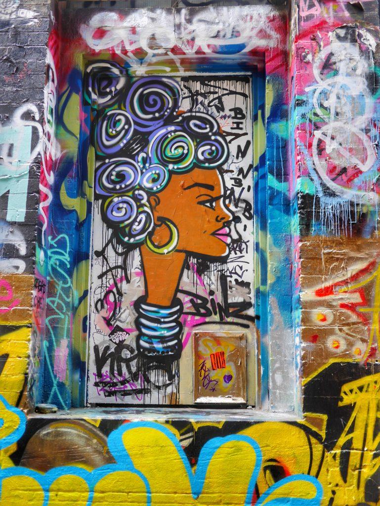 Melbourne CBD best street art Hosier Lane