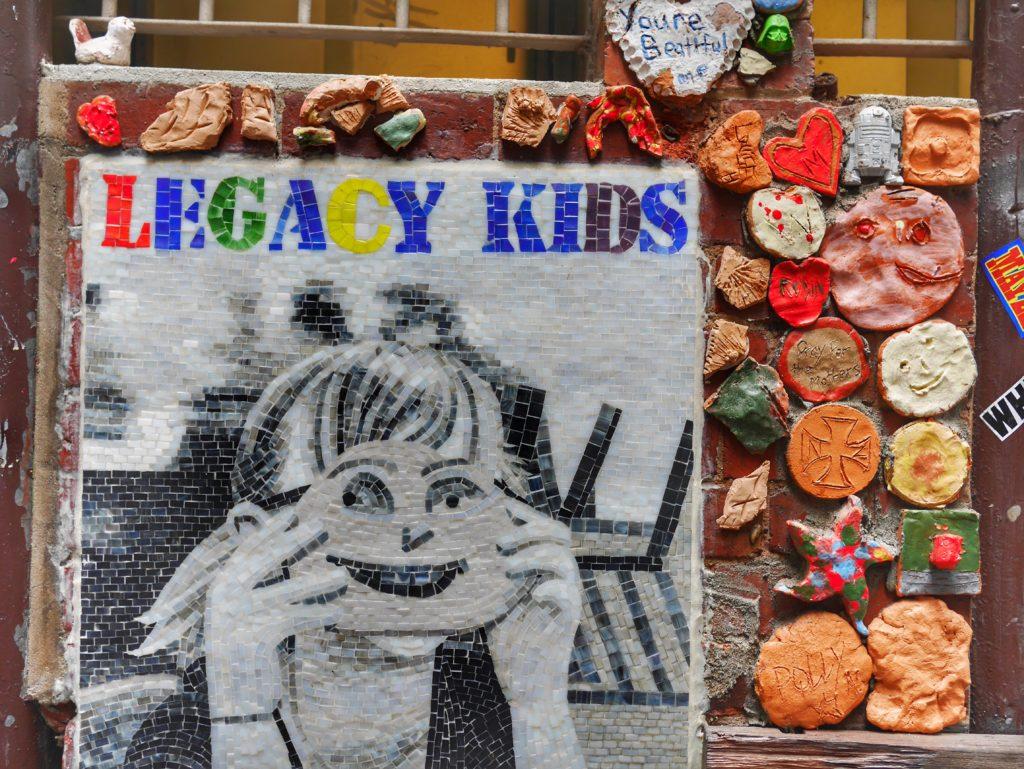 Melbourne CBD best street art Legacy Drewery Lane