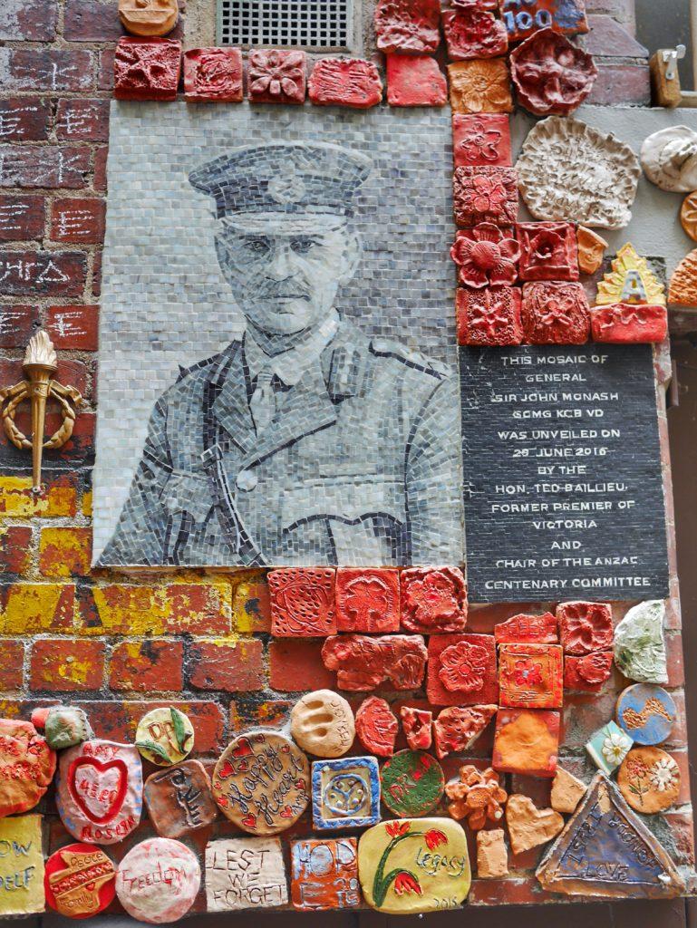 Melbourne CBD best street art Legacy mosaic Drewery Lane