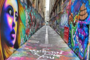 Melbourne CBD best street art Union Lane Melbourne