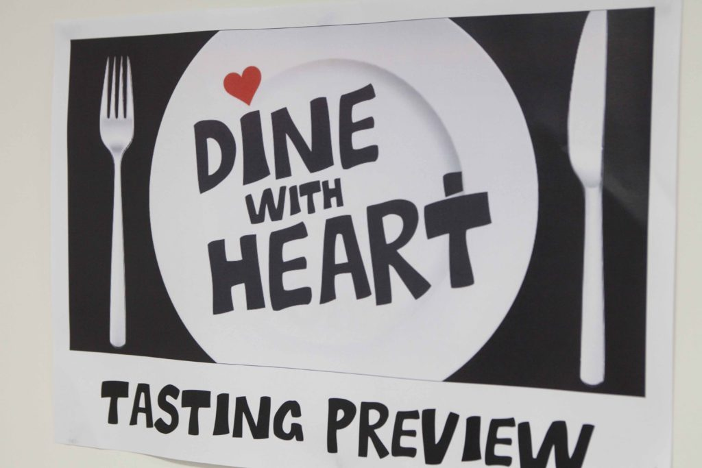 Dine with Heart restaurants tasting preview