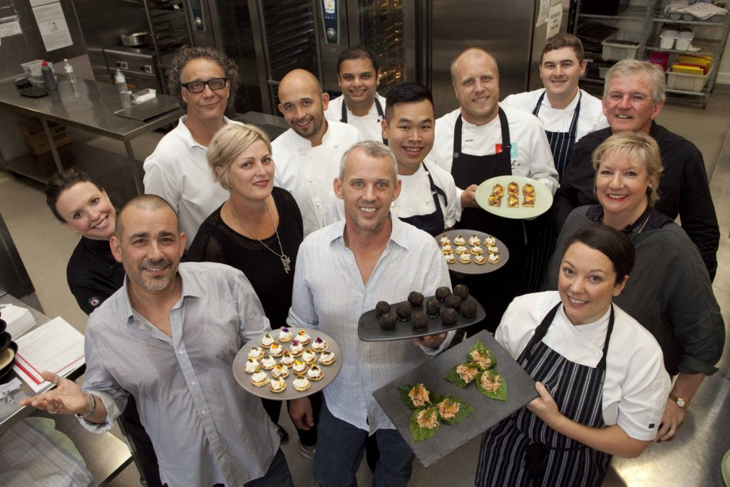 Dine with Heart chefs