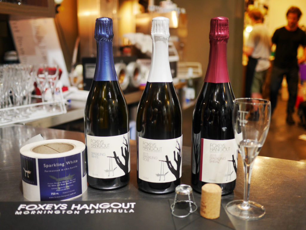 Foxey's Hangout sparkling wine Mornington Peninsula