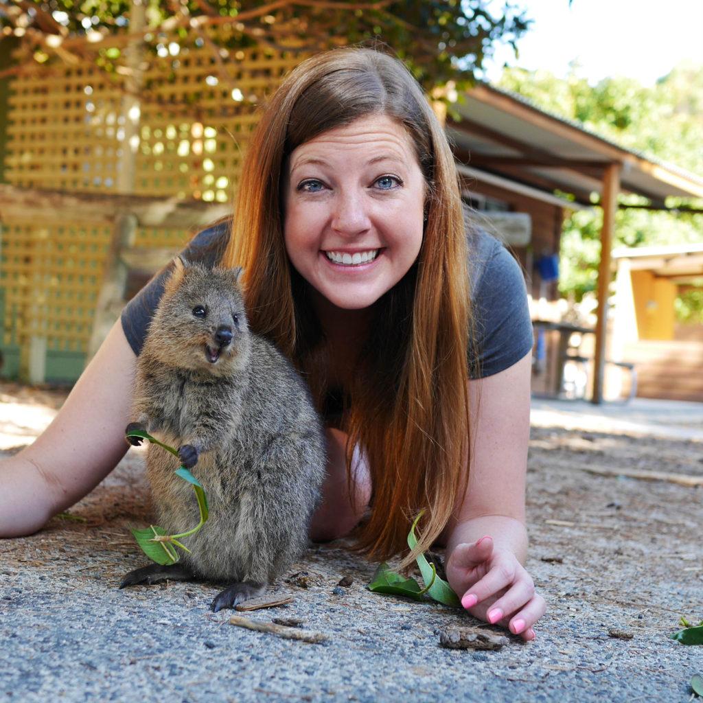 Quokka Selfie Rottnest Island thesweetwanderlust.com