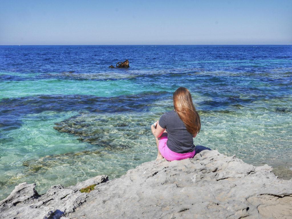 Rottnest Island Henrietta Rocks The Shark wreck thesweetwanderlust.com