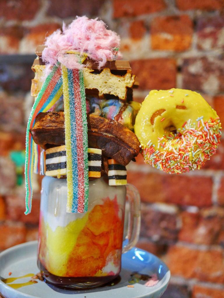 Cereal shake Cupcake Central-Melbourne's best freakshakes thesweetwanderlust.com