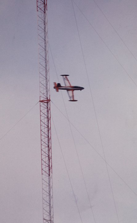 Dennis Brockschmidt Exmouth 4 July 1976 VLF towers