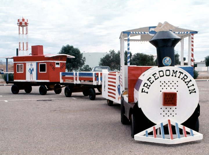 Dennis Brockschmidt Exmouth 4 July 1976 freedom train