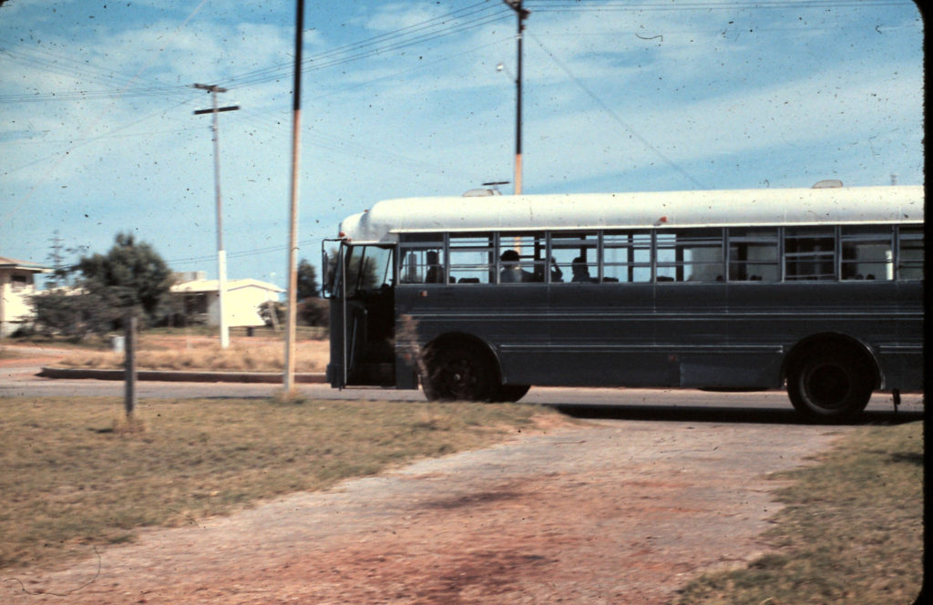 Exmouth American Bus