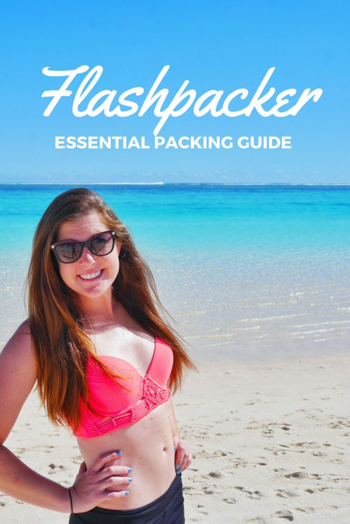 Flashpacker packing guide