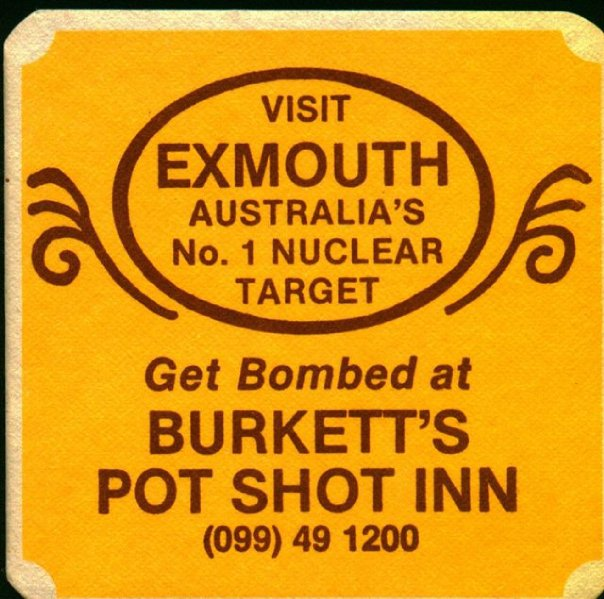 Potshot inn NWC Exmouth Australia Jack McMichael