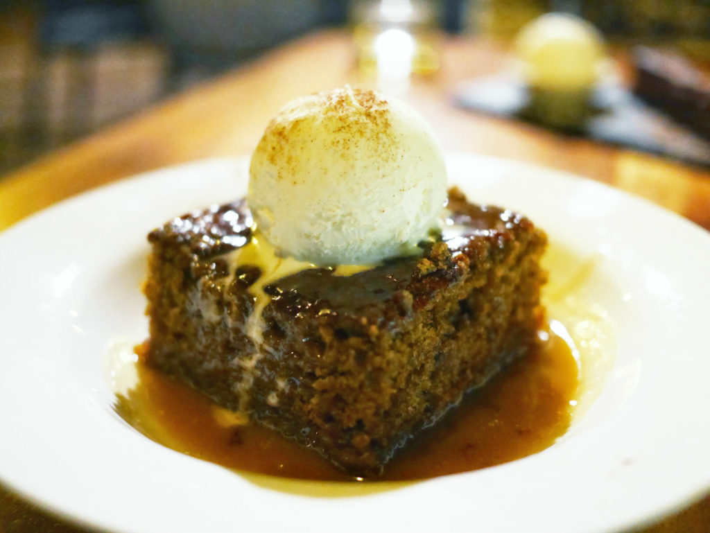 Whalers Sticky Date Pudding Exmouth
