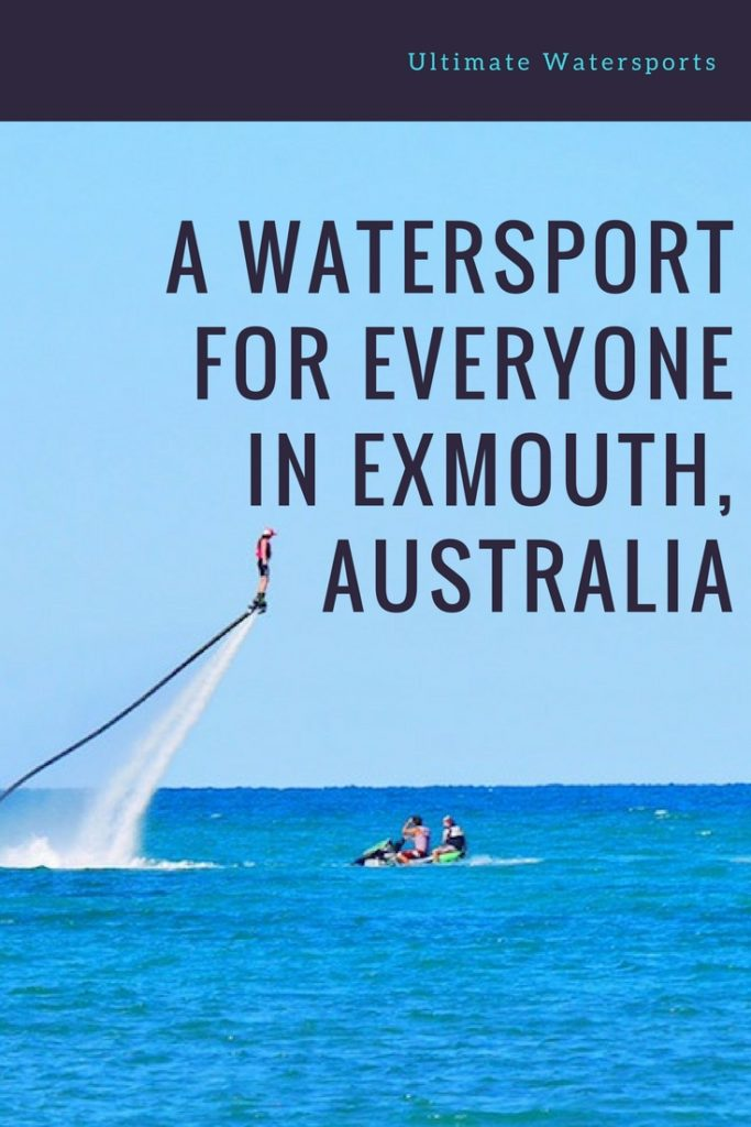 A Watersport for everyone in EXMOUTH, AUSTRALIA