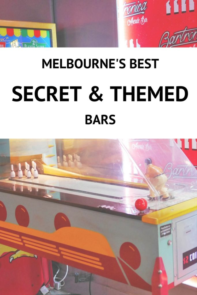 Melbourne's best secret and themed bars