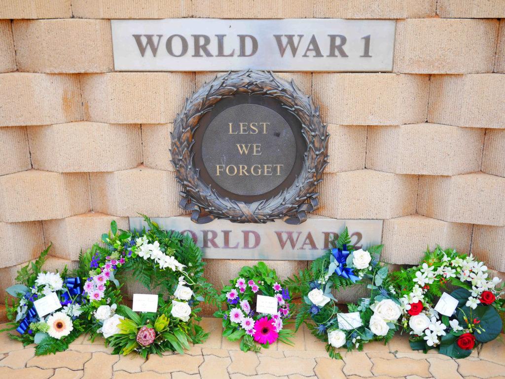 ANZAC Day memorial Exmouth