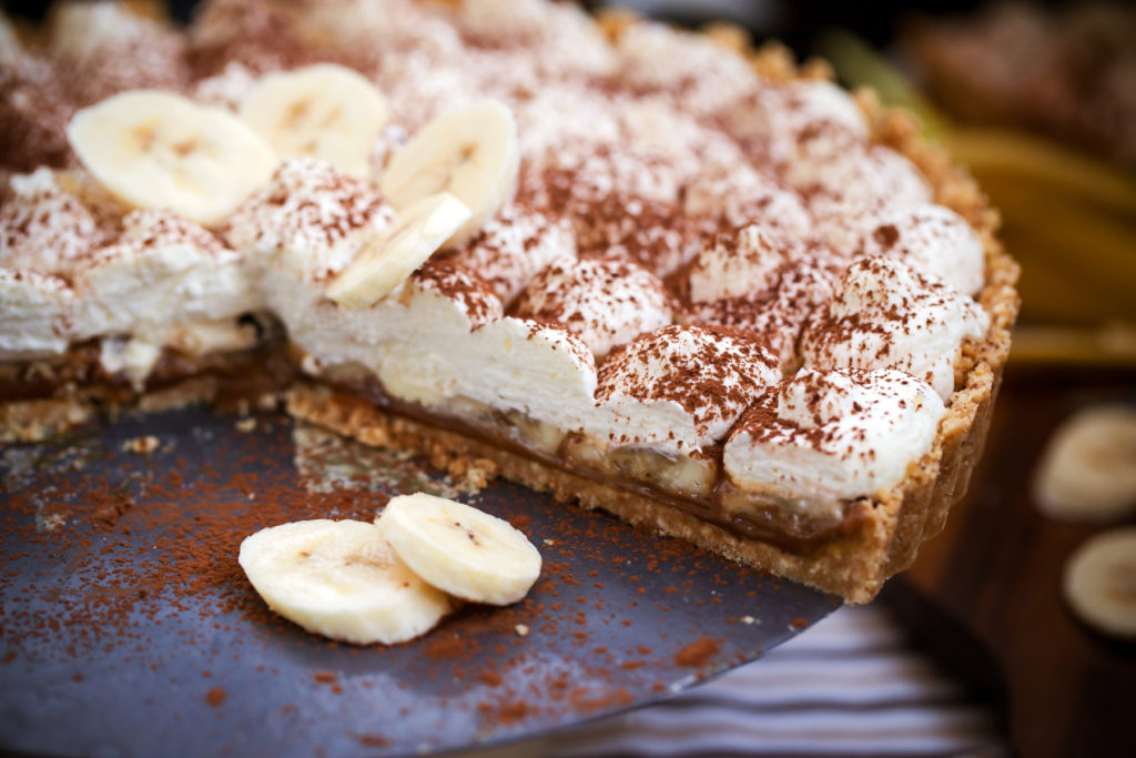 Banoffee pie (banana and toffee) England Australia desserts around the world