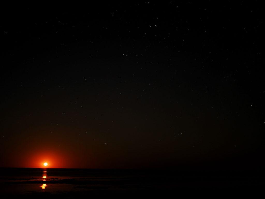 Exmouth Australia staircase to the moon