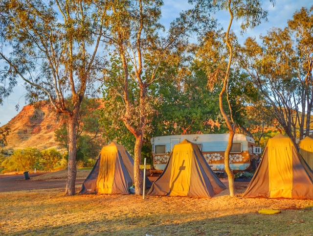 Flying Sandgroper camping