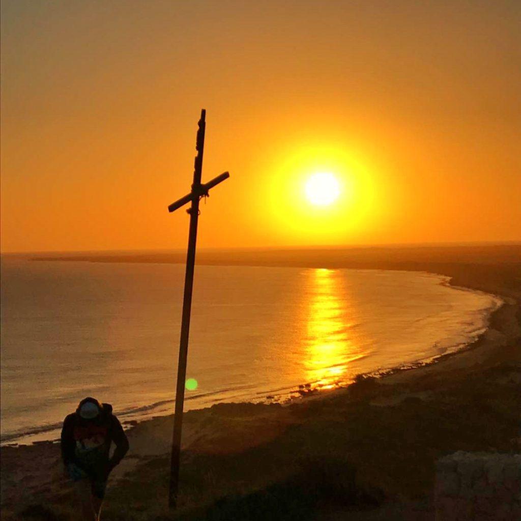 Exmouth Lighthouse sunrise