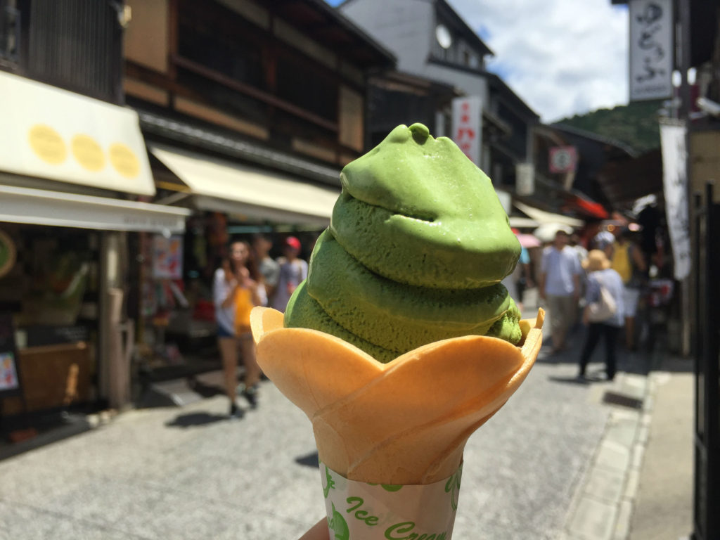 Matcha Ice Cream Japan traditional desserts around the world