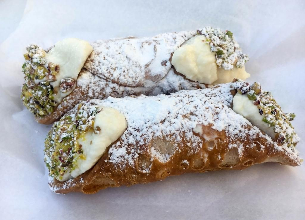 Cannoli Sicily traditional dessert Italy