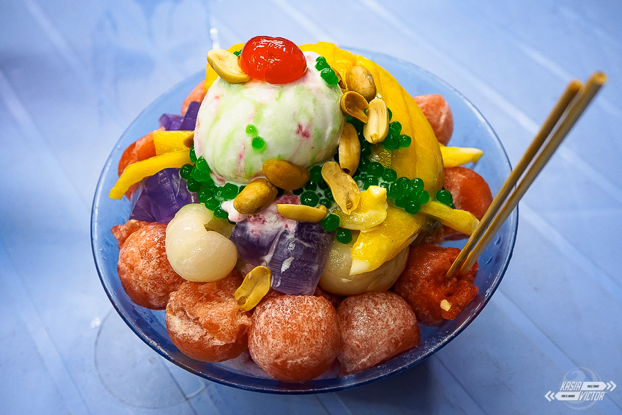 Ais Kacang traditional dessert from Malaysia