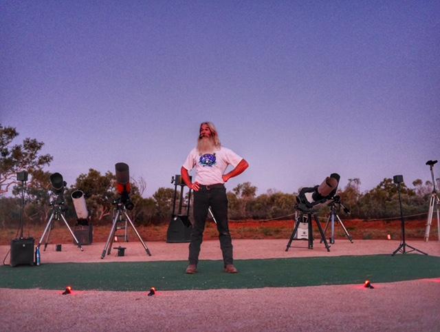 Broome Australia astro tour Greg Quicke