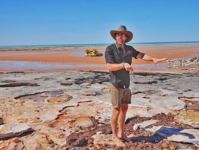 Broome Australia hovercraft tour