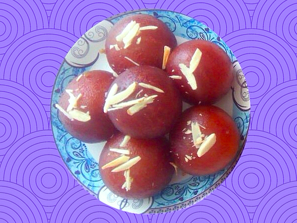 Gulab Jamoon traditional dessert India