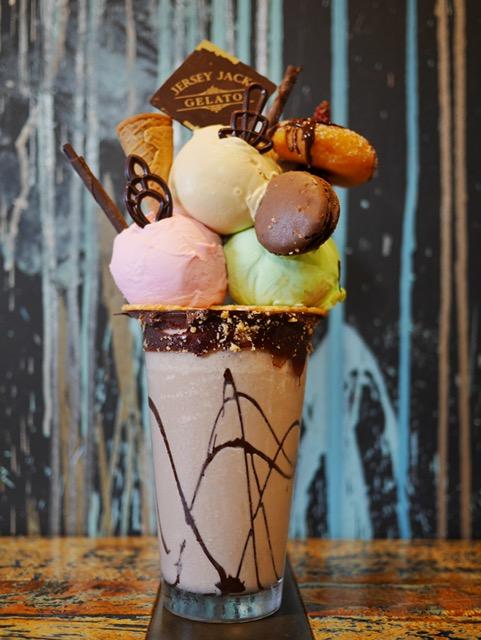 Jersey Jack gelato best freakshake perth