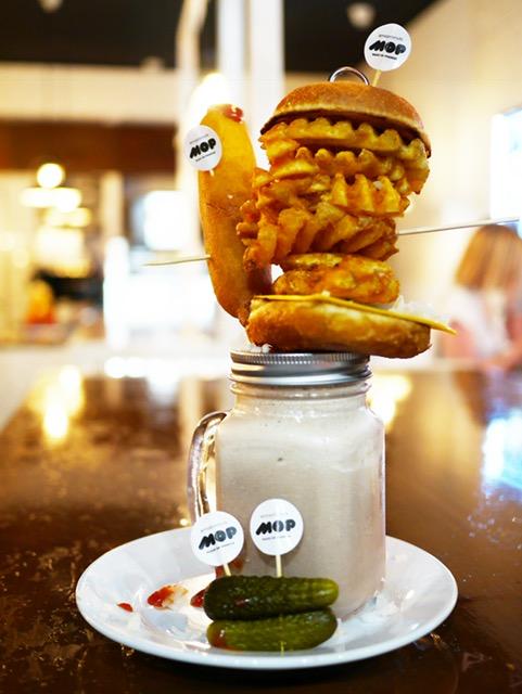 MOP Donuts best freakshake Perth corn dog shake