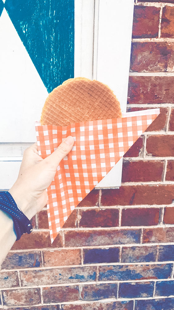 Stroopwafel Traditional Dessert from The Netherlands